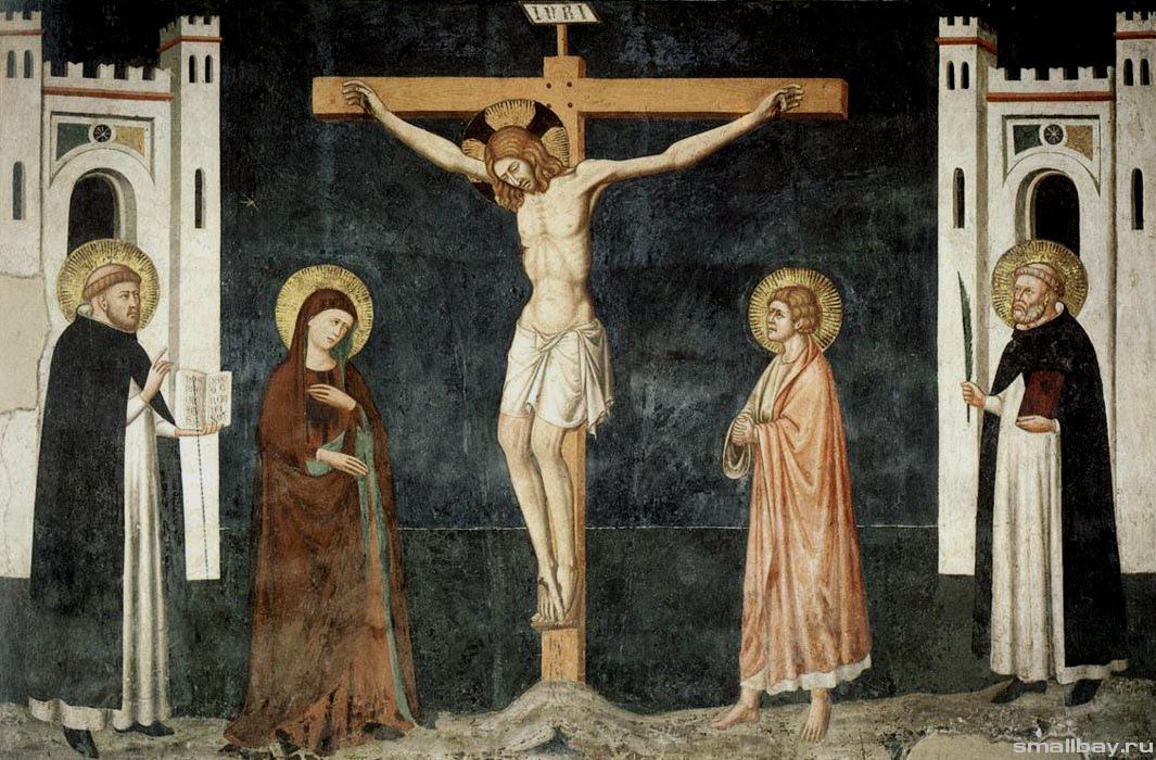 Pietro Cavallini. The Crucifixion