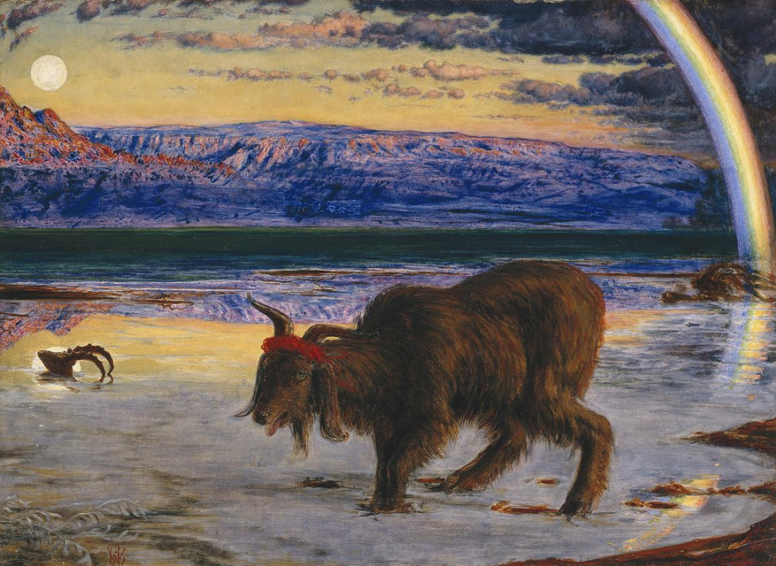 William Holman Hunt. Scapegoat II