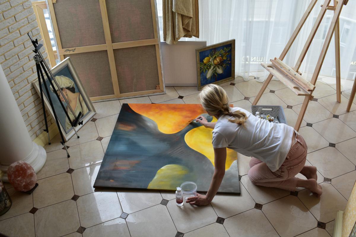 A DREAM COME TRUE - original oil painting
