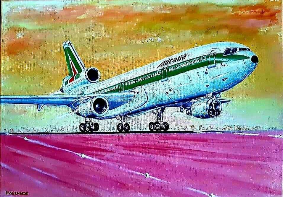 "Aviation Art. ""DC 10"""