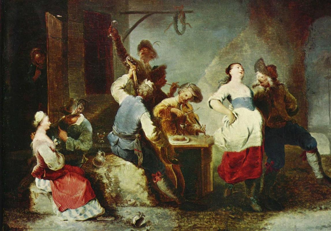 Januarius Cyc. Peasant dance