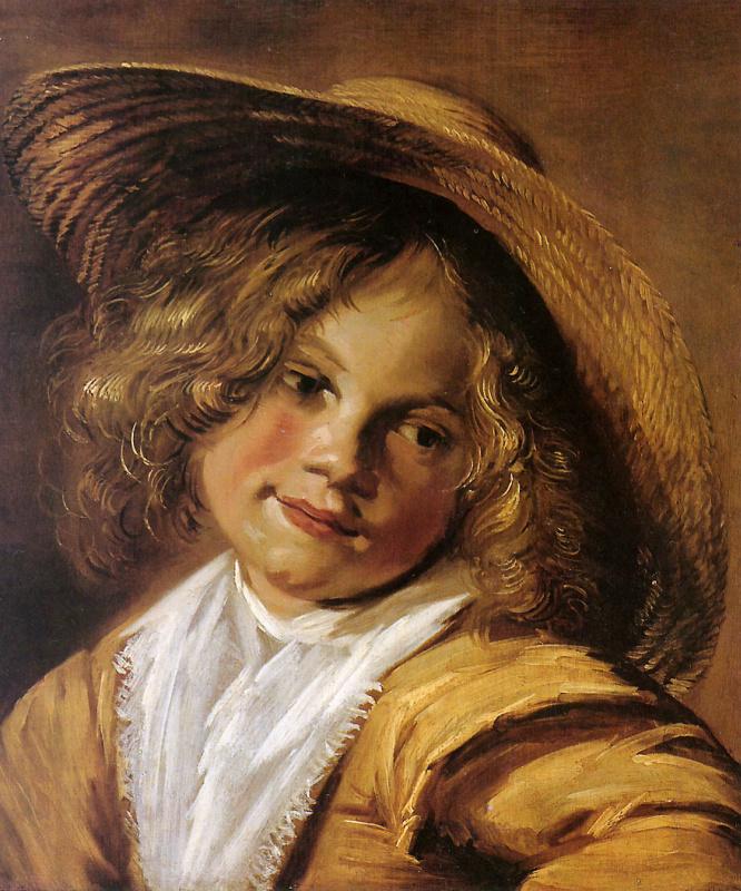 Юдит Лейстер. Ребенок в соломенной шляпе