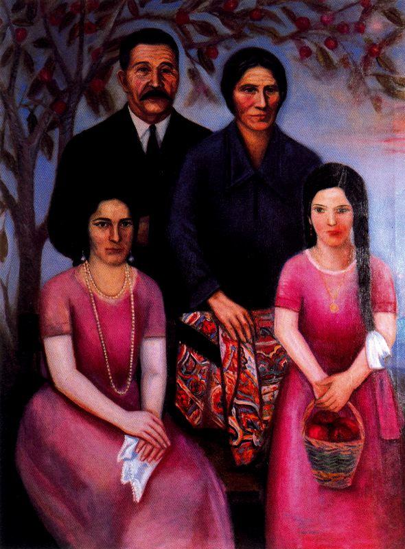 Вирхилио Бланко. Семья