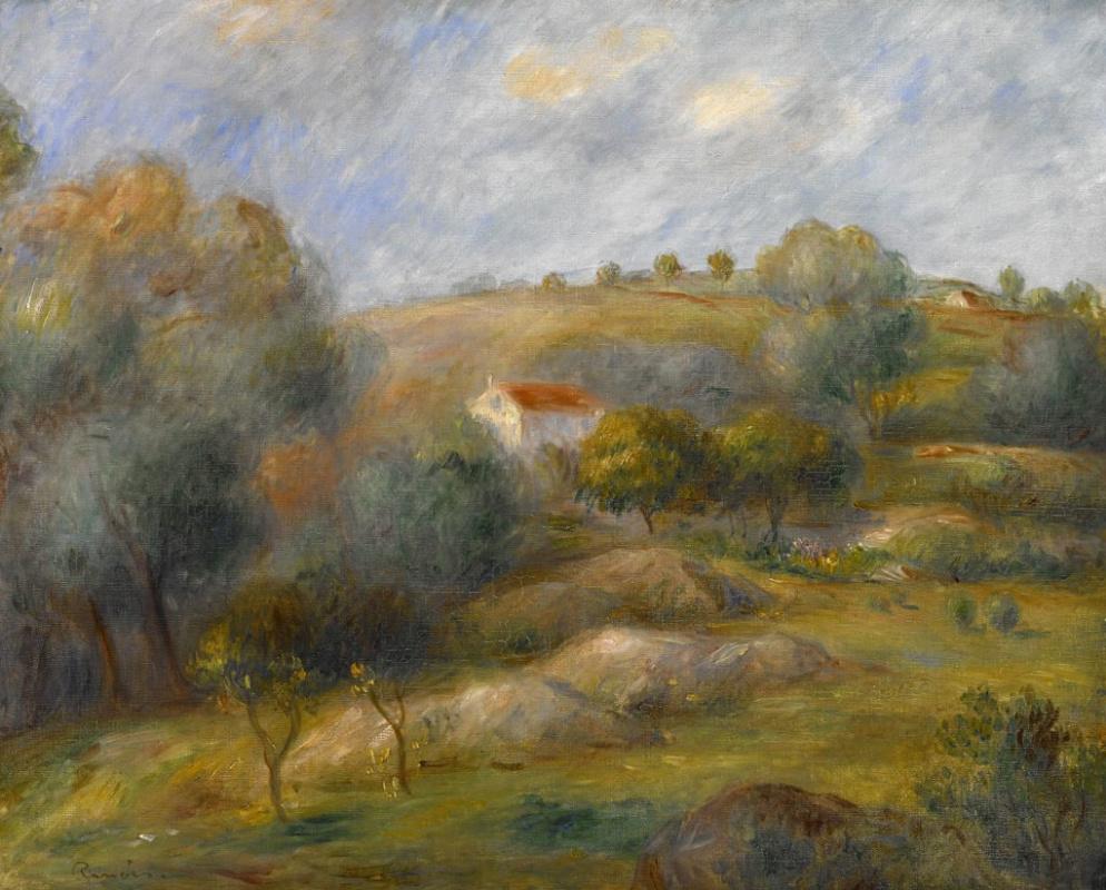 Pierre-Auguste Renoir. Spring in essua