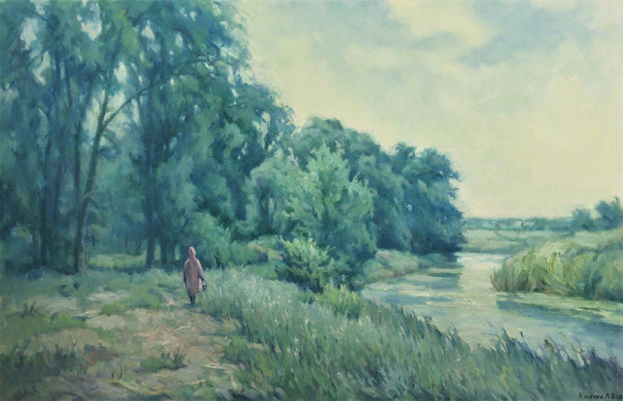Александр Владимирович Кусенко. Rain in Maryevsky Garden