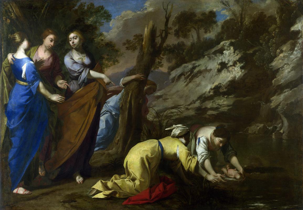 Антонио де  Беллис. Нахождение Моисея