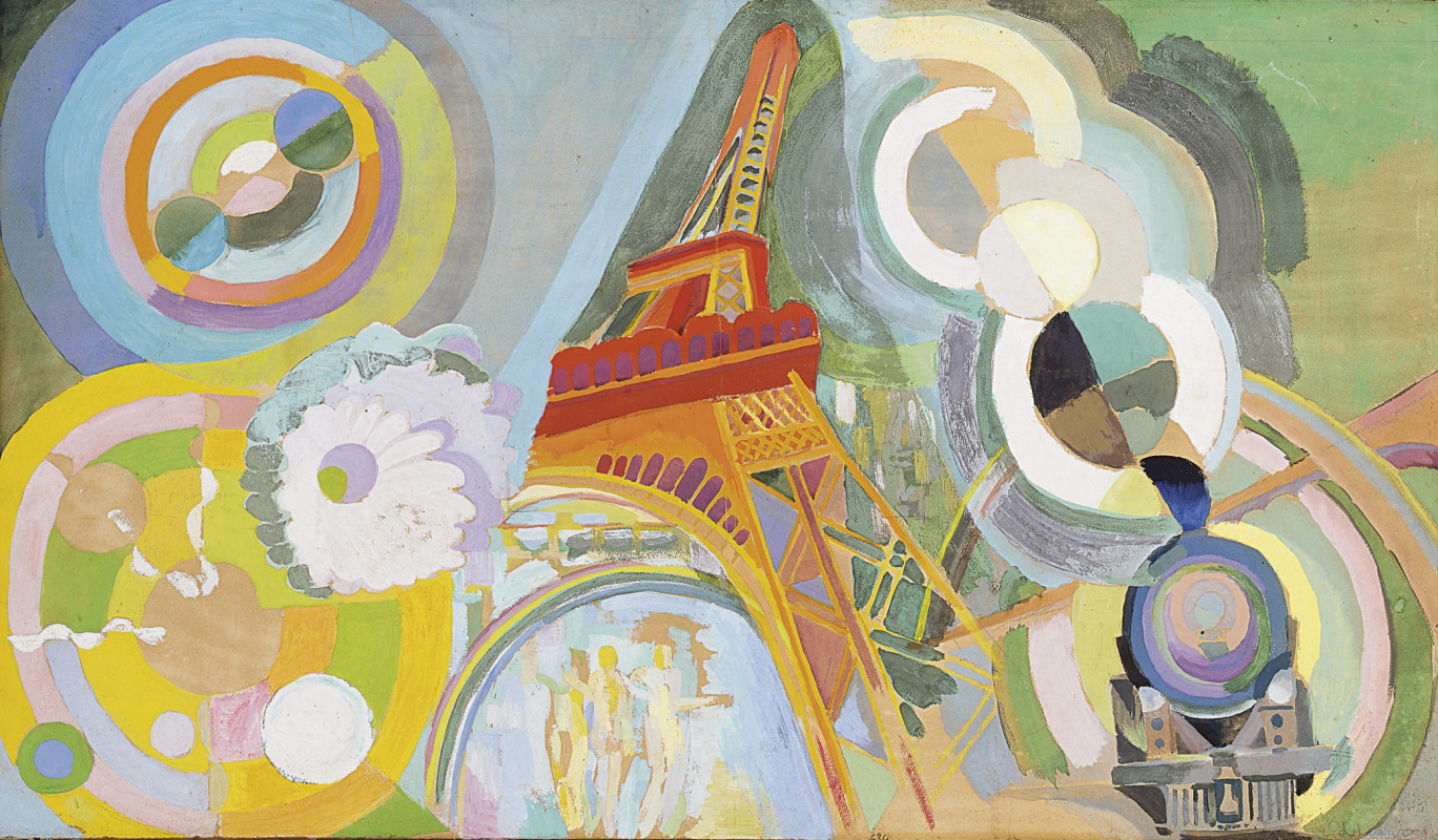 Robert Delaunay. Air, iron and water