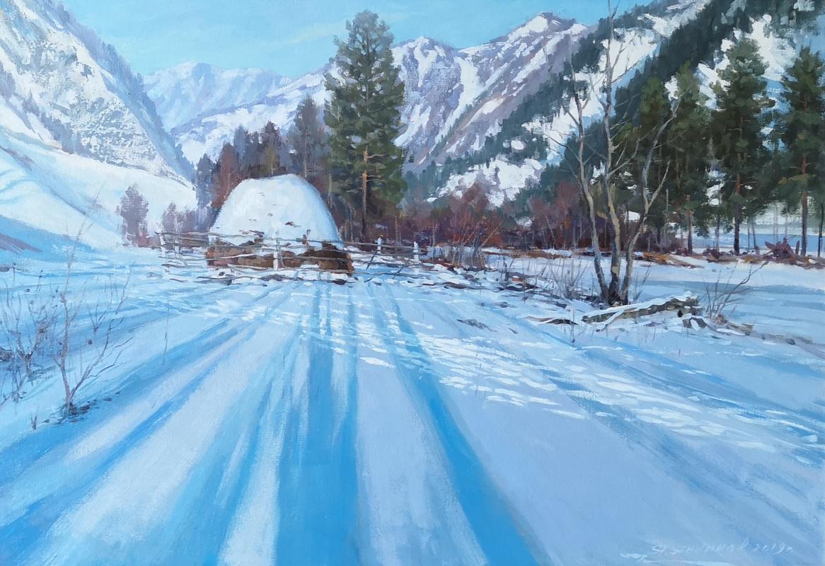 Яков Янкинов. Winter morning