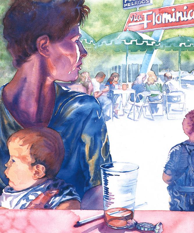 Джеки Морган. Иллюстрация 1