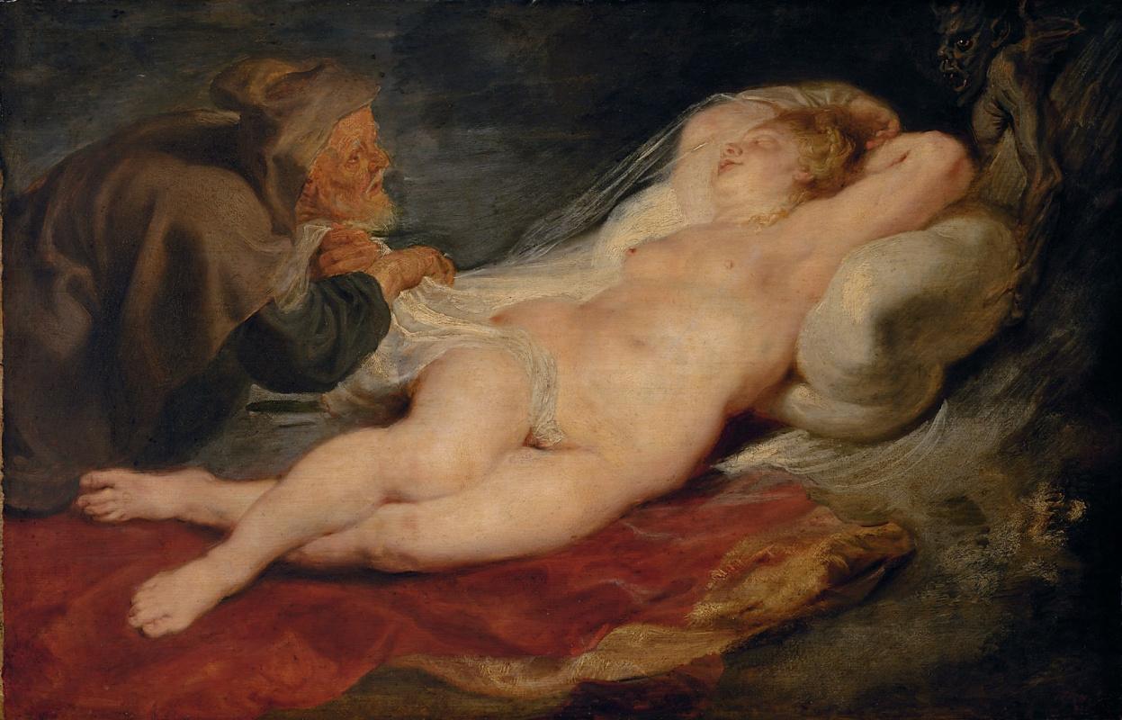 Питер Пауль Рубенс. Анжелика и Еремит