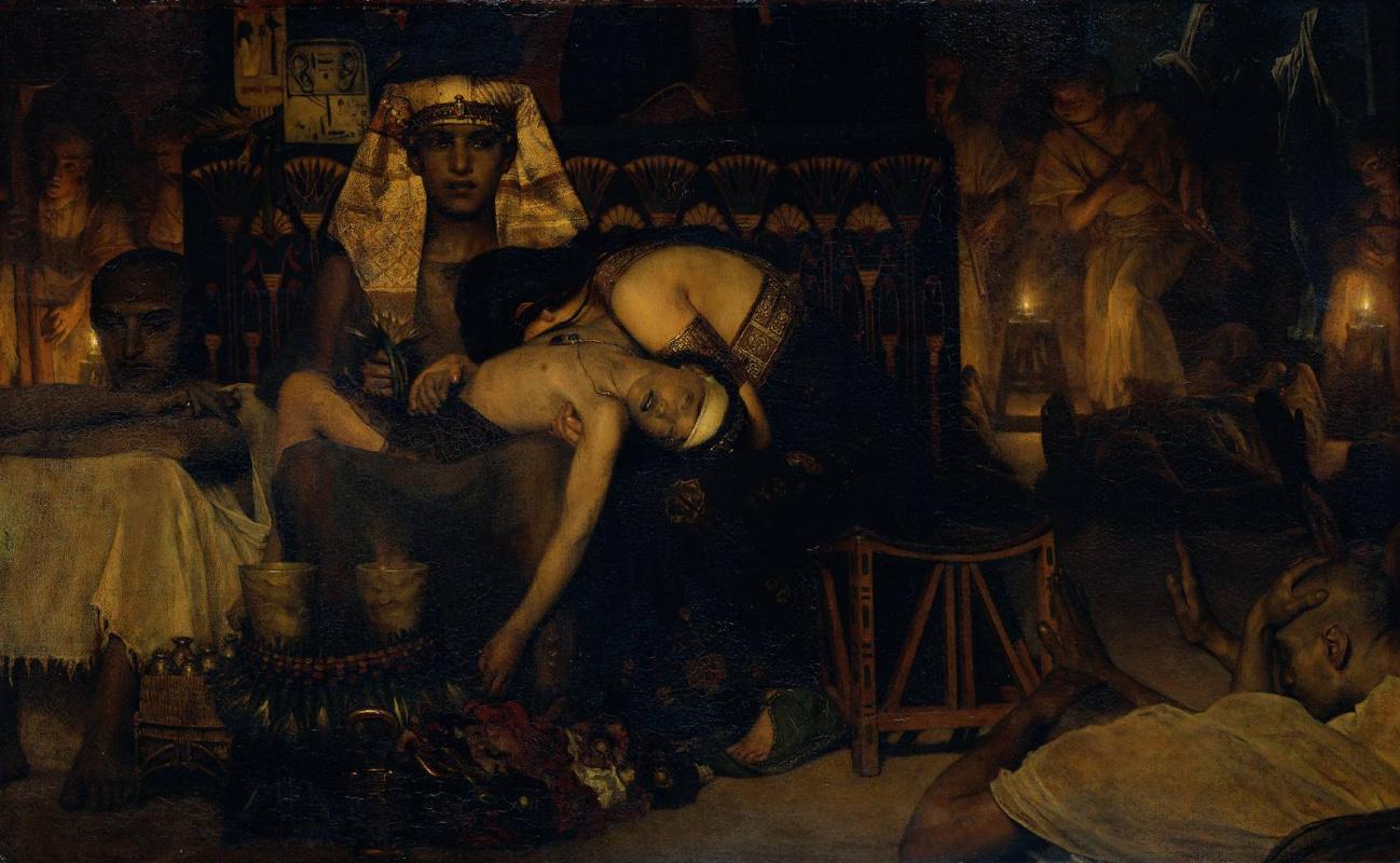 Лоуренс Альма-Тадема. Смерть первенца фараона