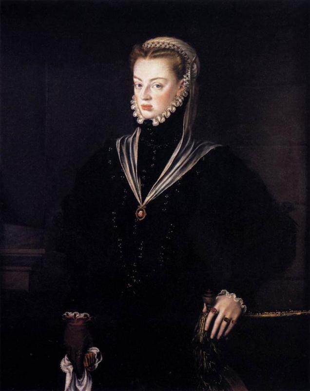 Алонсо Санчес Коэльо. Донья Хуана, принцесса Португалии