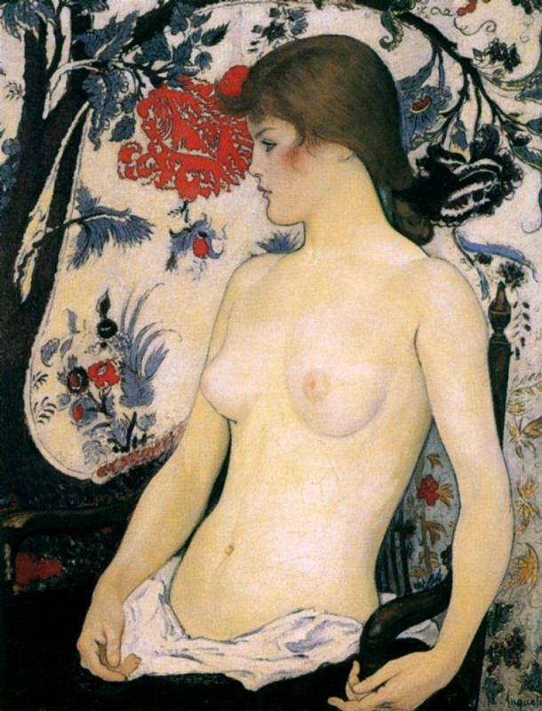 Луи Анкетен. Торс молодой девушки 1891