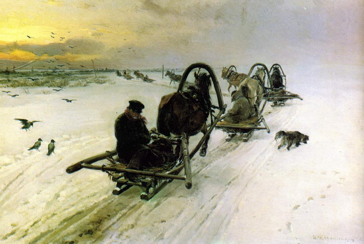 Илларион Михайлович Прянишников. Порожняки. 1871