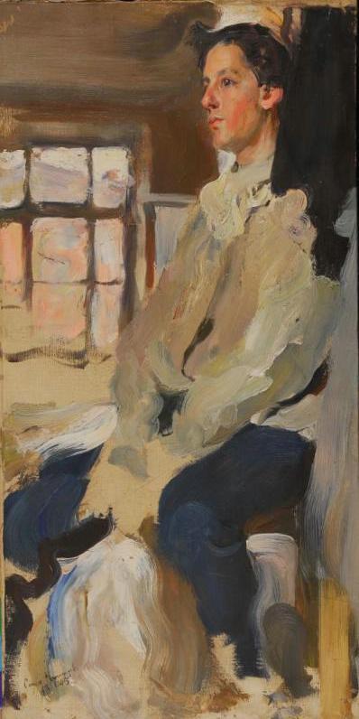 Семен Гавриилович Никифоров. Портрет Ивана Гавриловича Никифорова, брата художника