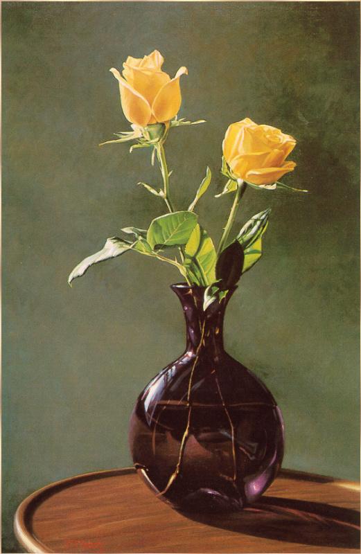 Марк Вебер. Желтые розы