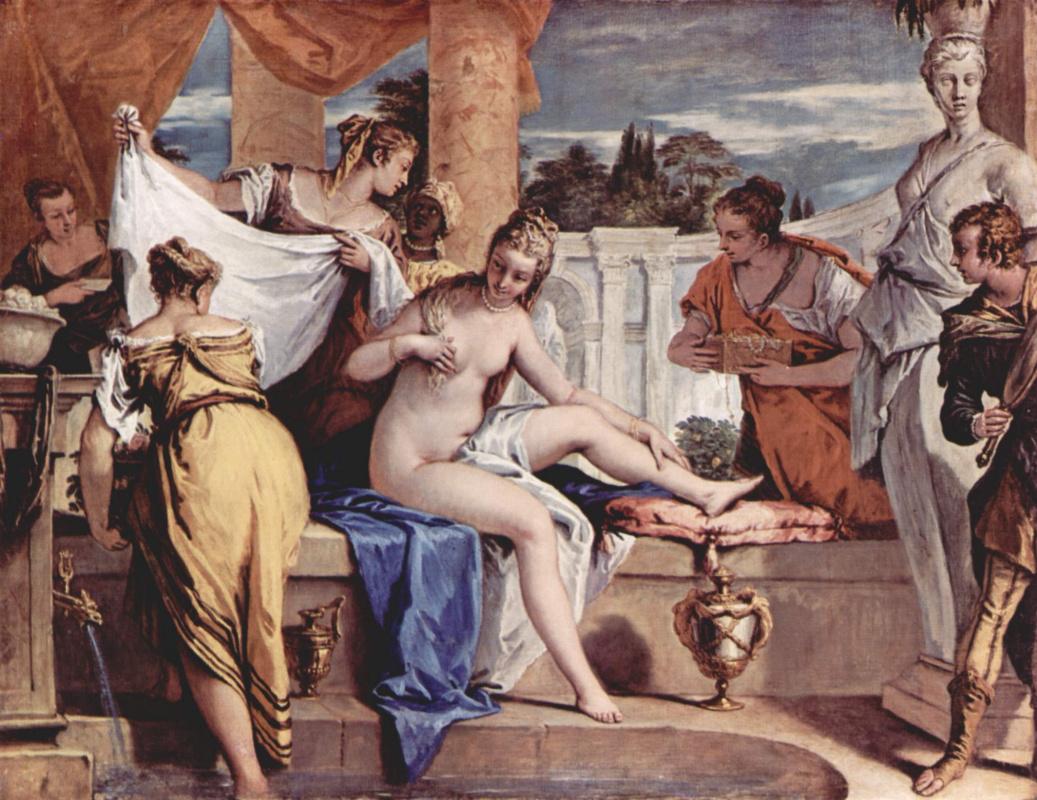 Себастьяно Риччи. Купание Вирсавии