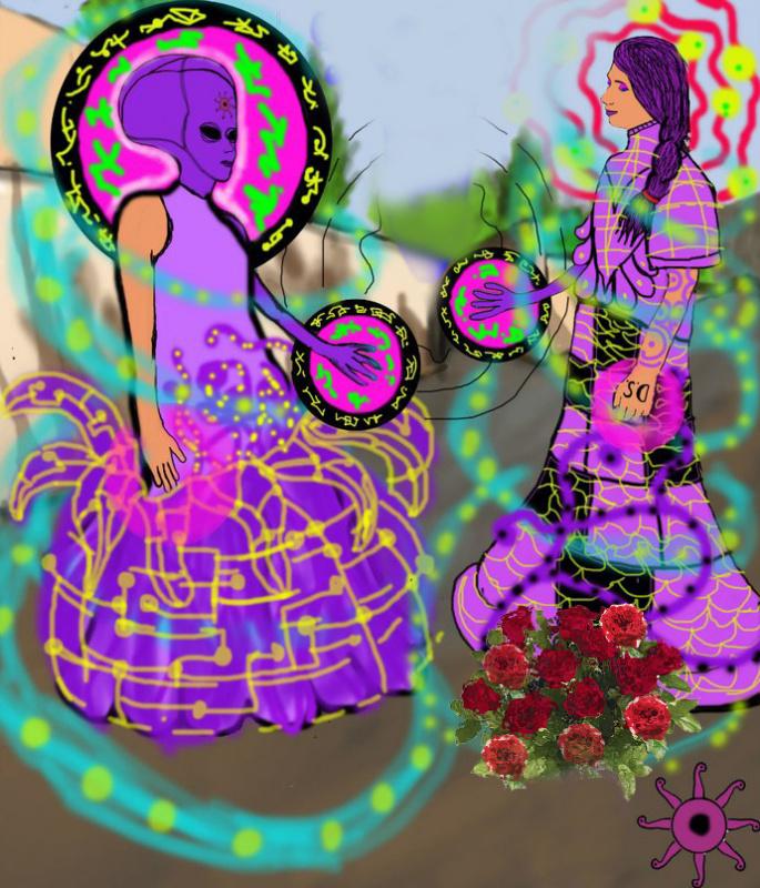 """Александр Татарников, DiezelSun, Diezel Sun. Духовное творчество. Уфолизм. """"Две основы/ сути в человеке – земная и инопланетная"""" 741678"""