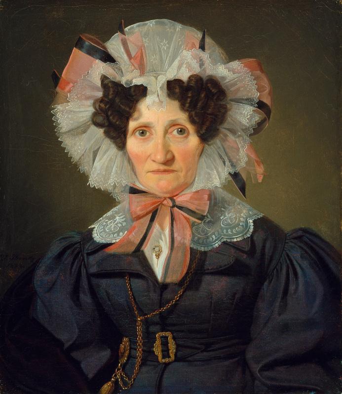 Вильгельм Бендз. Портрет женщины