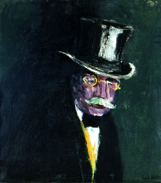 Emil Nolde. Portrait Of Gustav Shifler