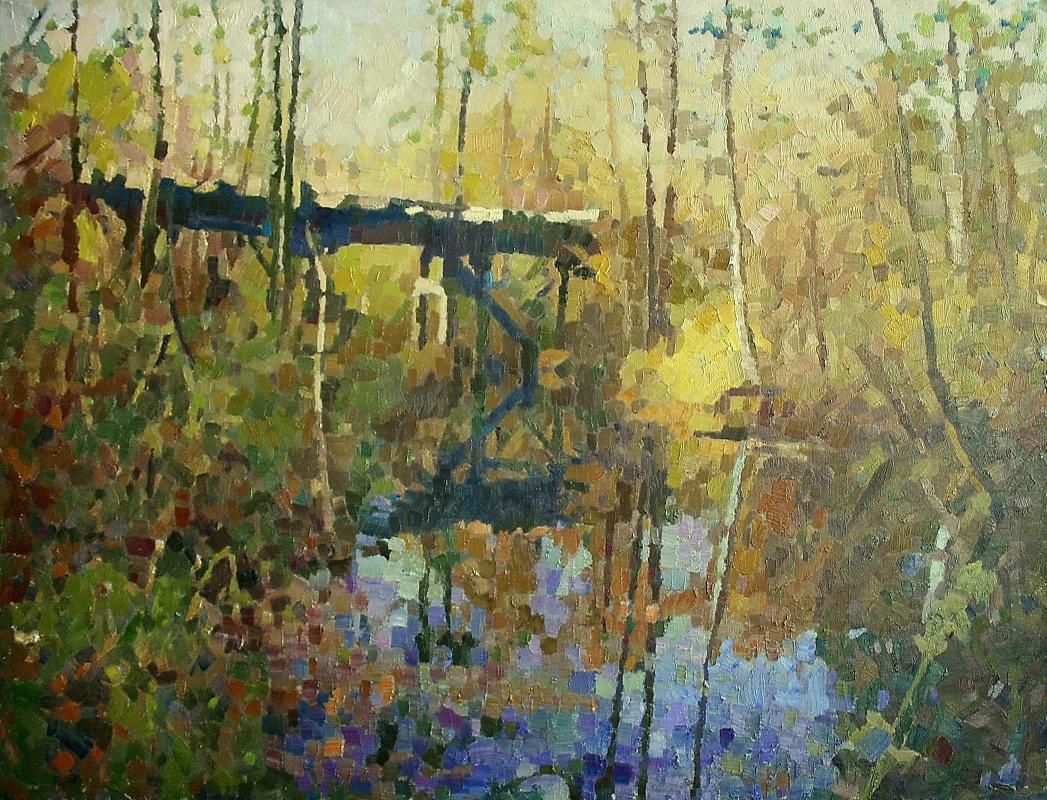 Mikhail Rudnik. Old bridge