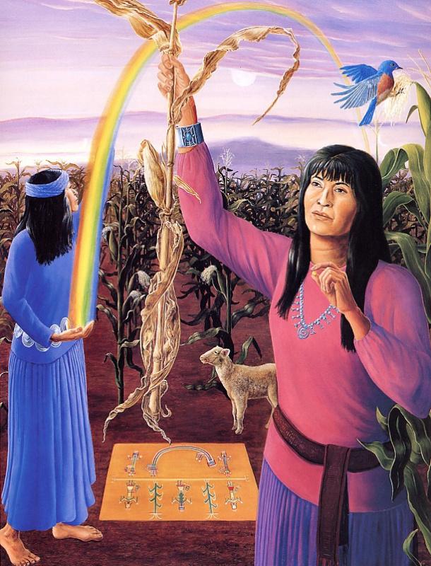 Богиня урожая