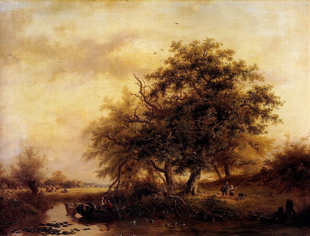 Фредерик Мариан Крусеман. Большое дерево