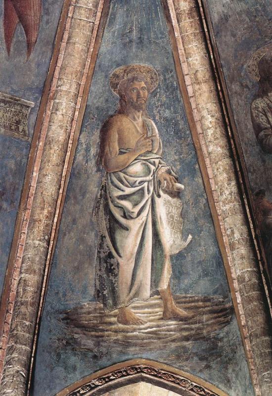 Андреа дель Кастаньо. Св. Иоанн Креститель