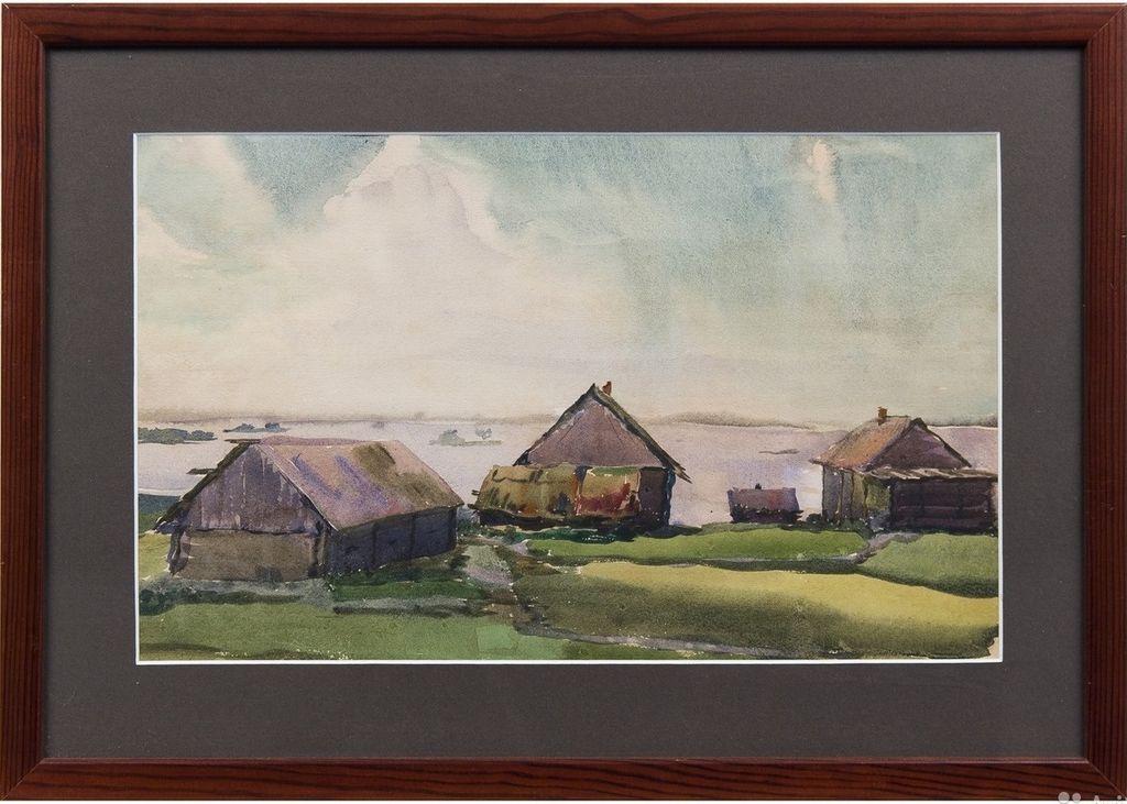 Abram Borisovich Grushko. Houses