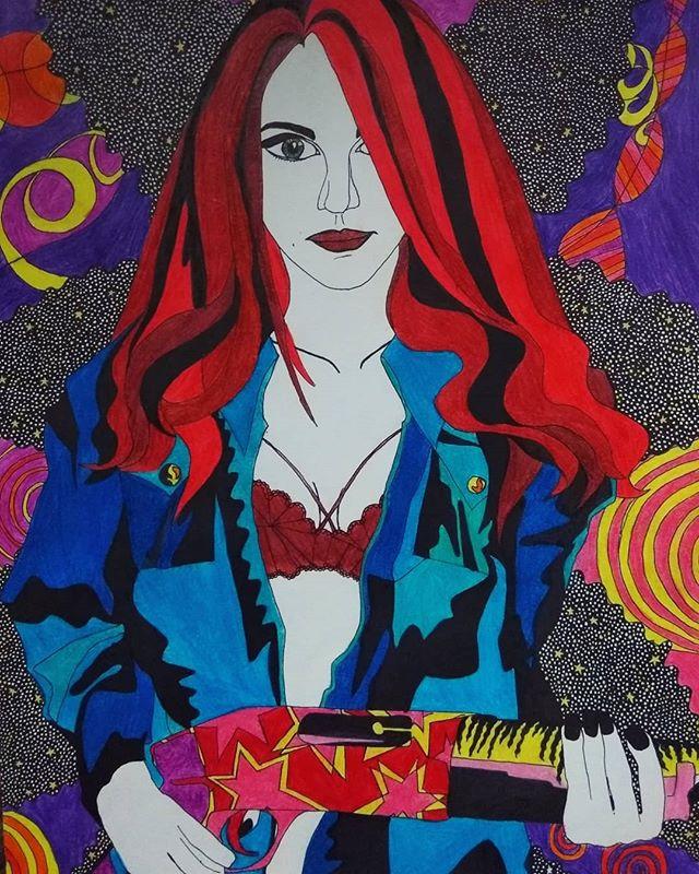 Sasha Shishichka. Self-portrait