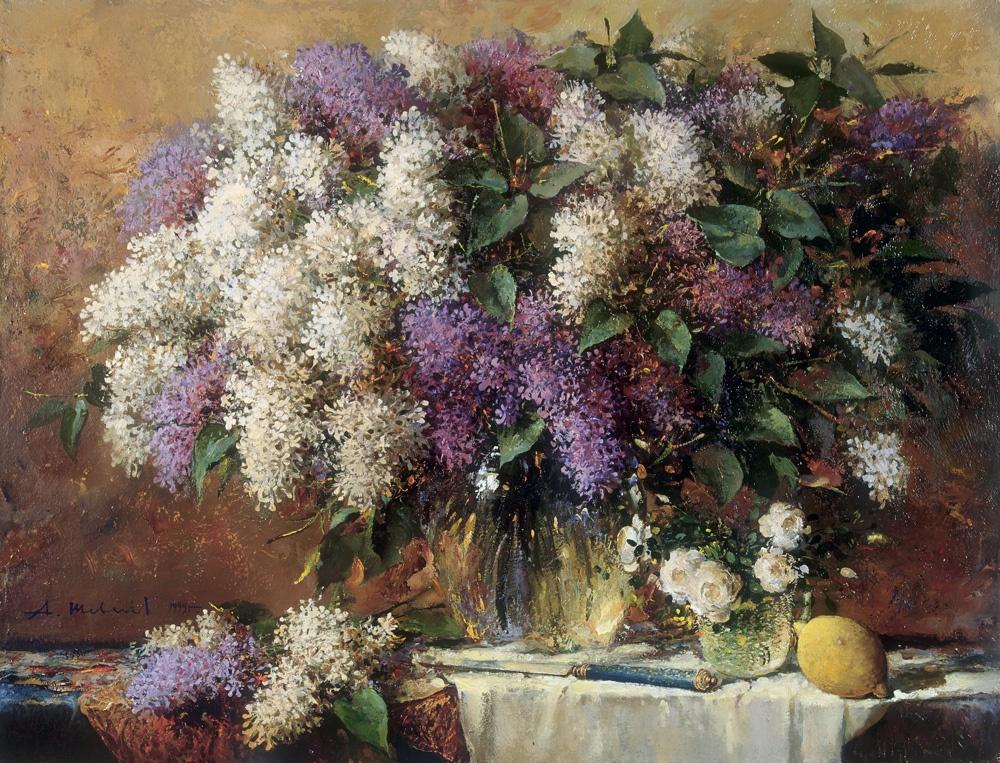 Alexander Victorovich Shevelyov. Bouquet in glass