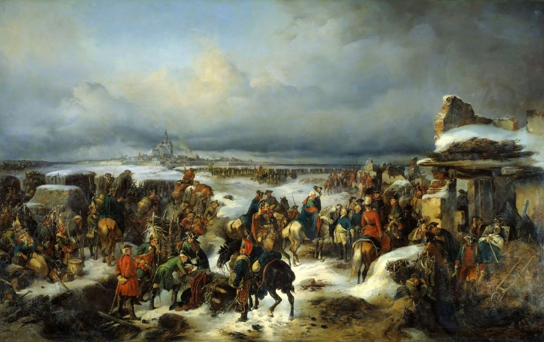 Alexander Evstafievich Kotzebue. The capture of the fortress of Kolberg
