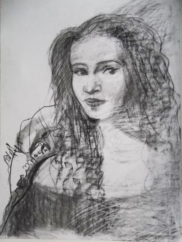 Lyubov Sycheva. Portrait of the actress