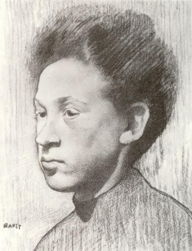 Лев Самойлович Бакст (Леон Бакст). Портрет неизвестного молодого человека