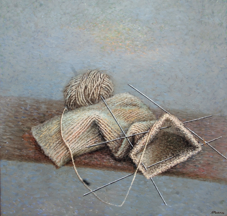 Anatoly Petrovich Rybkin. Mother's handicraft