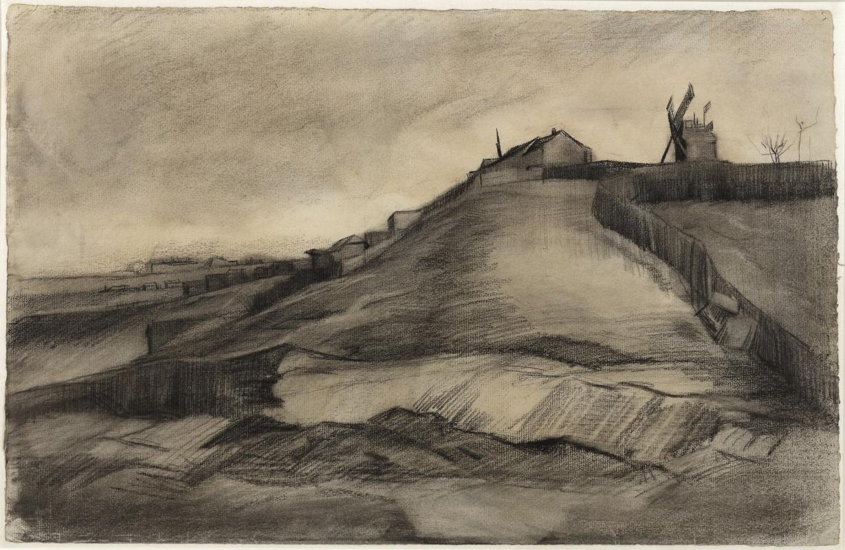 Винсент Ван Гог. Холм Монмартра с каменоломней
