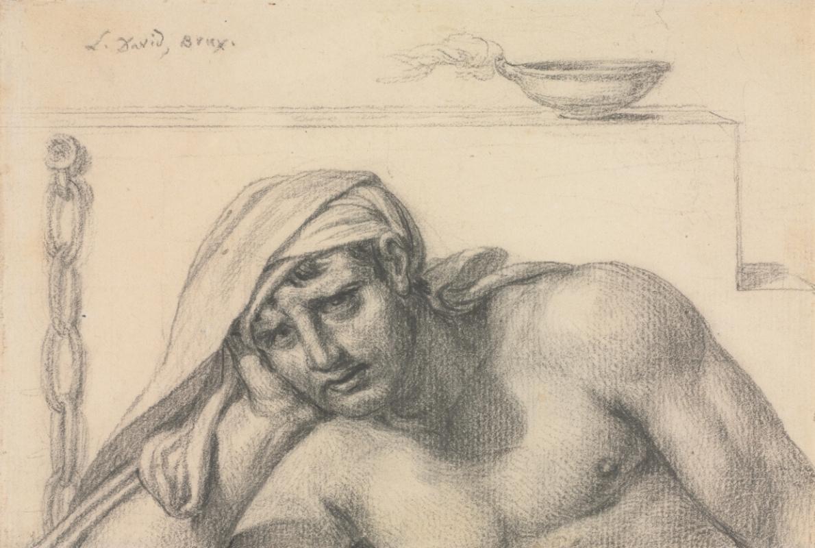 Jacques-Louis David. Prisoner