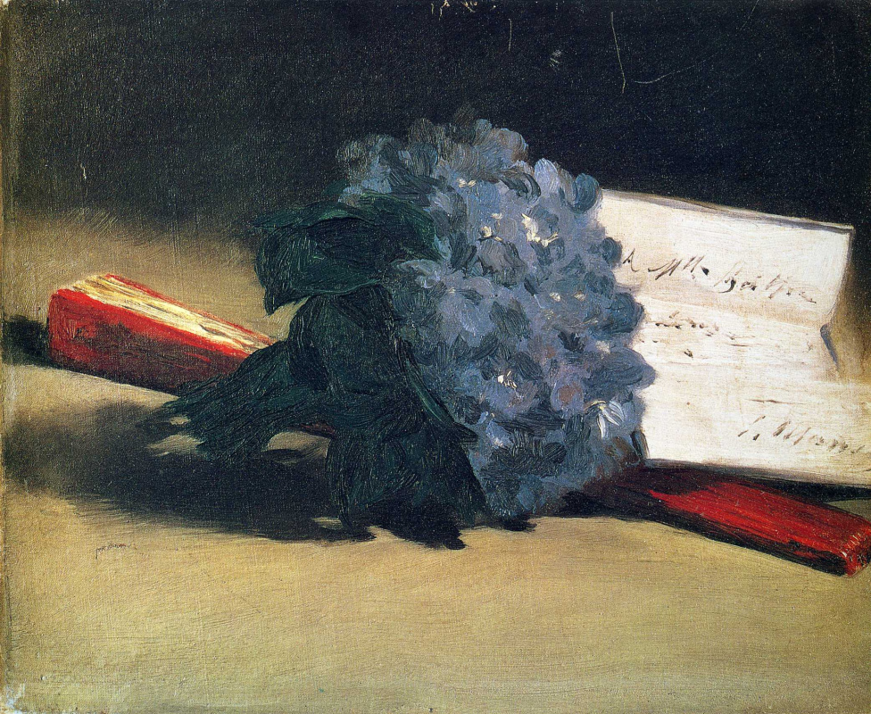 Edouard Manet. Bouquet of violets
