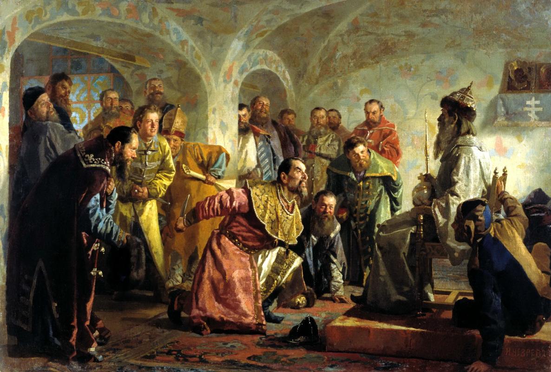 Николай Васильевич Неврев. Опричники
