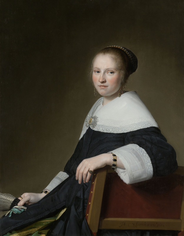 Ian Cornelis Versprop. Portrait Of Mary Strip