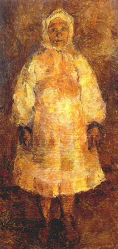 Ева Павловна Левина-Розенгольц. Рязанская крестьянка
