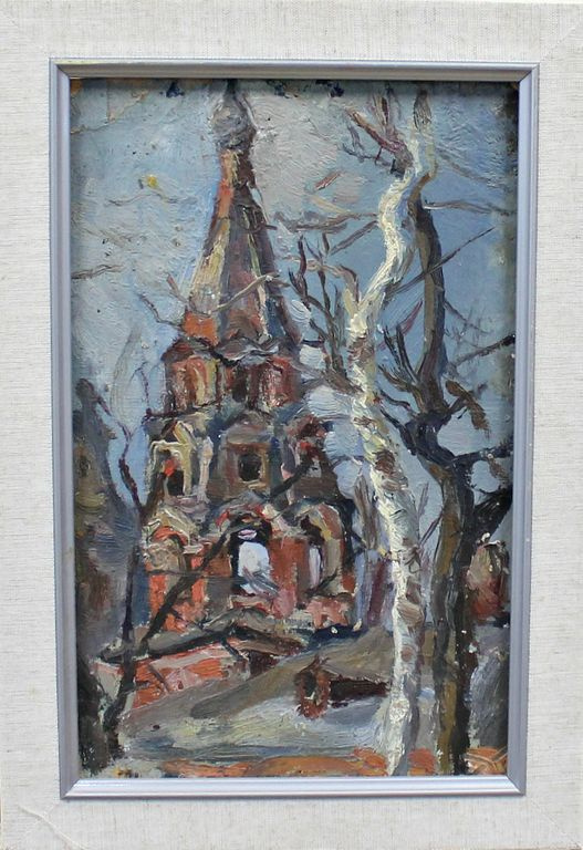 Orest Georgievich Betekhtin. Sketch of a bell tower