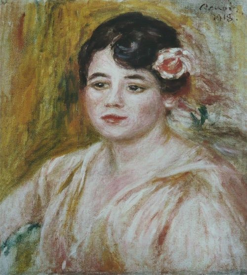 Pierre-Auguste Renoir. Portrait Of Adele Besson