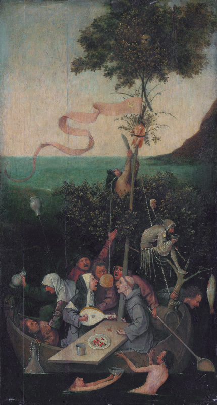 Hieronymus Bosch. Ship of fools