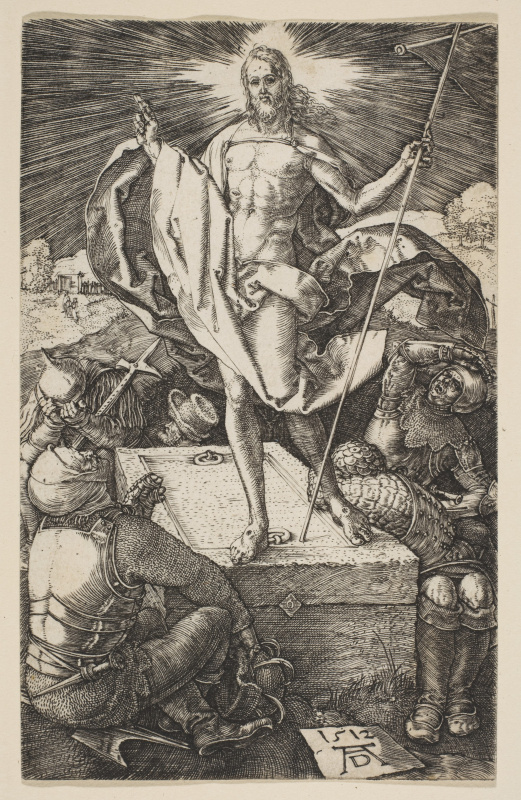 "Albrecht Durer. The Resurrection Of Christ. From the cycle ""the passion of the Christ"""