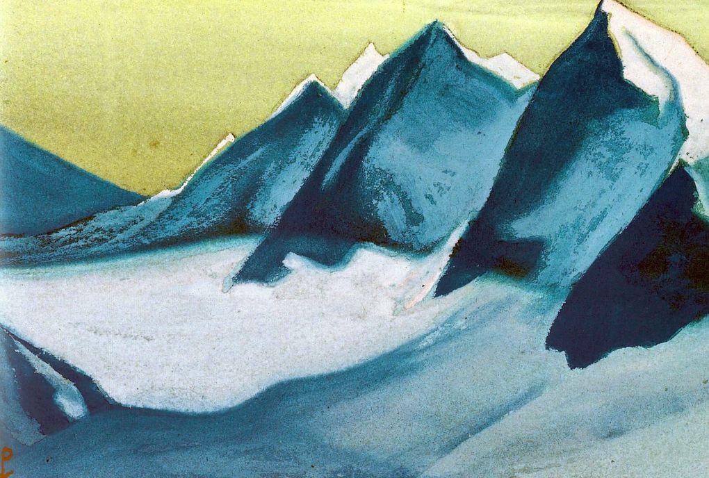 Николай Константинович Рерих. Гималаи (Ледник)