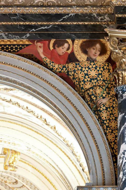 Густав Климт. Старое итальянское искусство (Роспись для музея истории искусств, Вена)