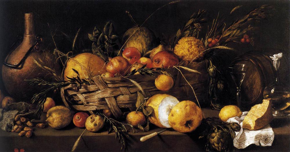 Antonio de Pereda. Still life with fruits