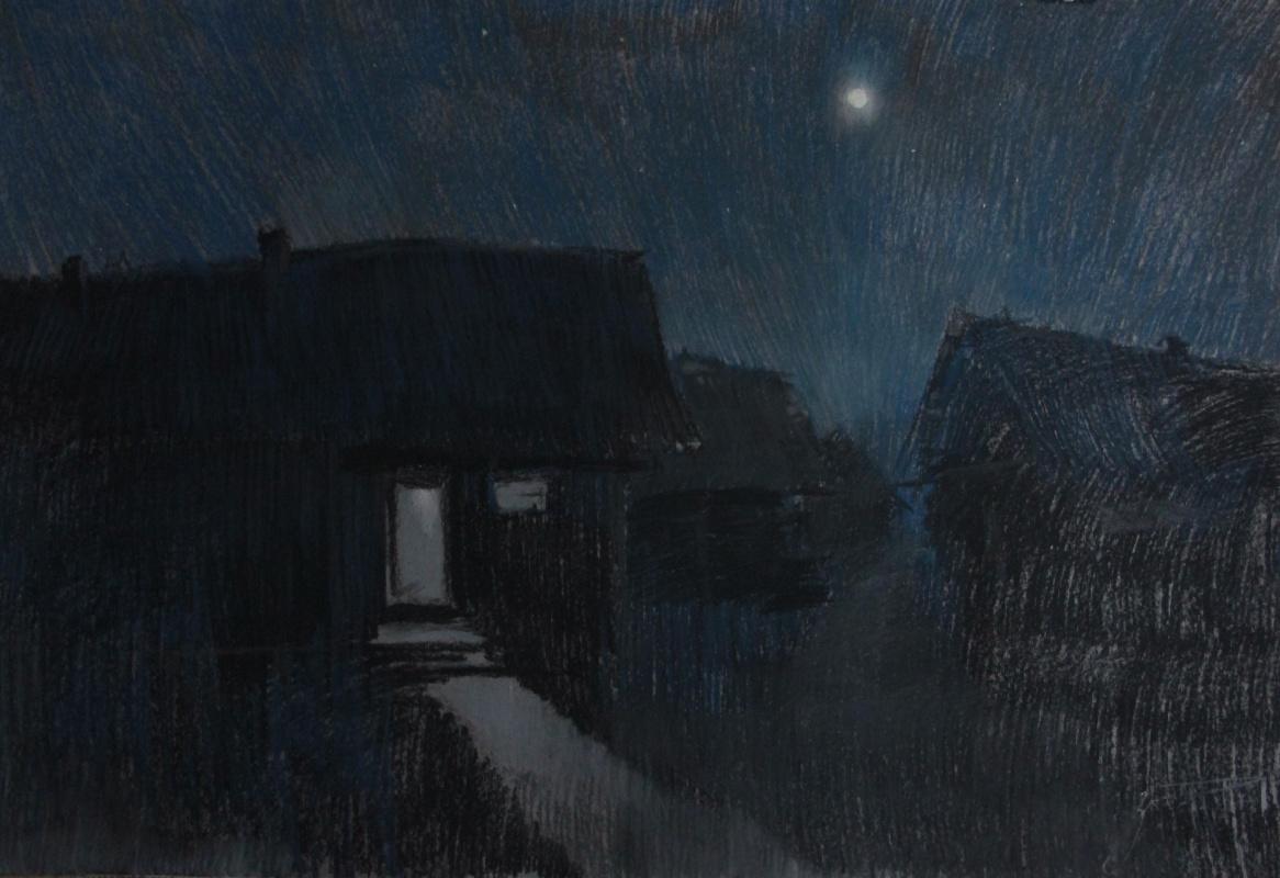 Alexander Zorin. Moonlit night