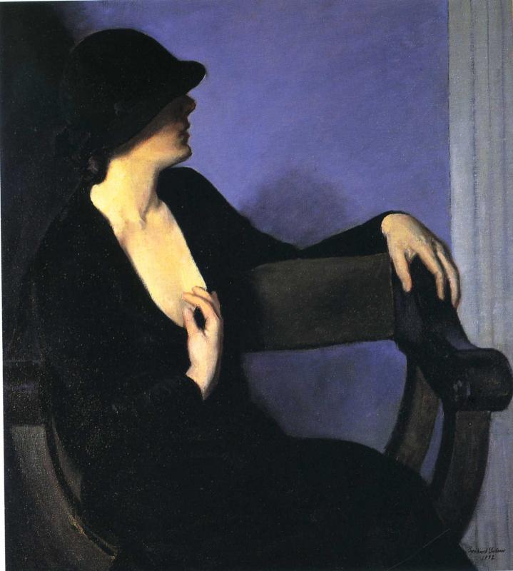 Ли Фридлендер. Женщина в черной шляпе